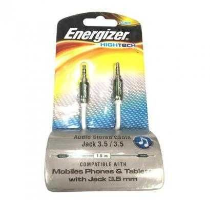 energizer audio stereo cable, metal serie for mobiles green