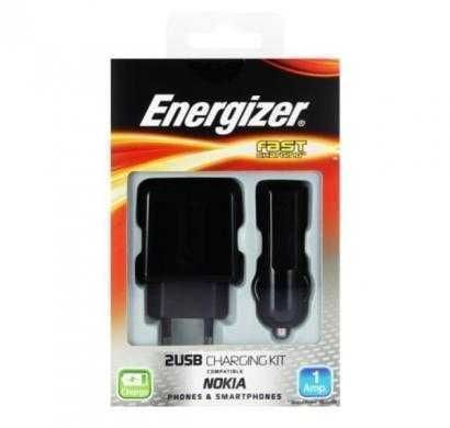 energizer classic 3 in1 charger 2 usb for micro-usb devices (eu plug) black