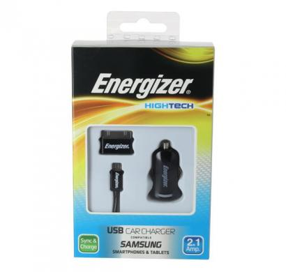 energizer hightech car charger 1 usb for samsung devices black