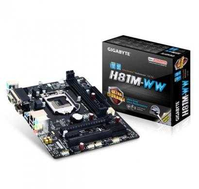 gigabyte h81m-ww lga1150 4th generation motherboard - parallel port + serial port ready