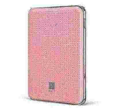 iBall Portable 5000mAh Power Bank - Pink