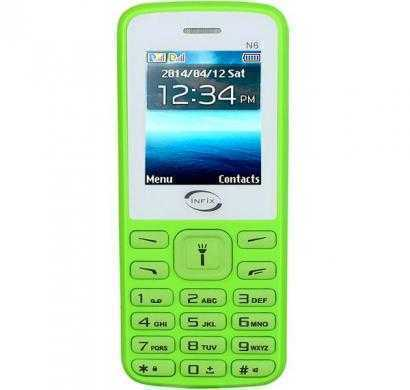 infix n6 dual sim multimedia with facebook (green)