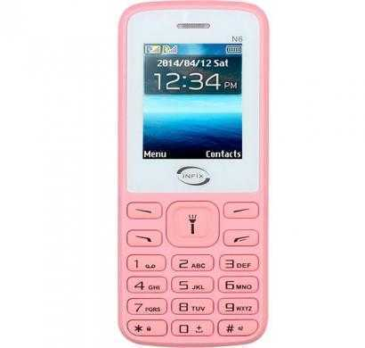Infix N6 Dual Sim Multimedia With Facebook (Pink)