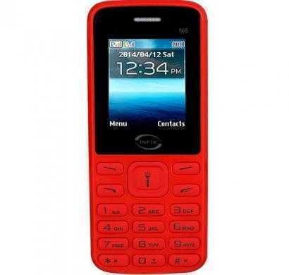 Infix N6 Dual Sim Multimedia With Facebook (Red)