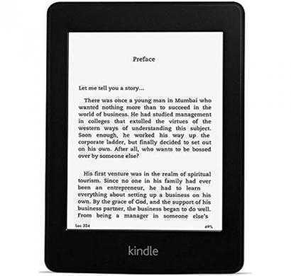 kindle paperwhite 3g with wi-fi tablet 4 gb (black)
