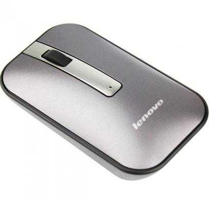 lenovo n60 wireless optical mouse (silver)
