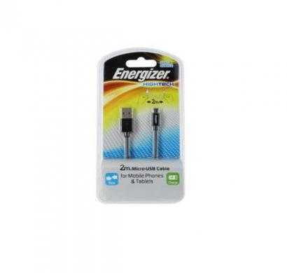Micro USB cable for mobile phones & tablets- black
