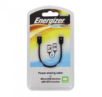 energizer micro-usb to micro-usb power sharing cable