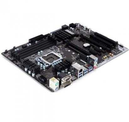 msi h170a pc mate lga 1151 intel h170 hdmi sata 6gb/s usb 3.1 usb 3.0 atx intel motherboard