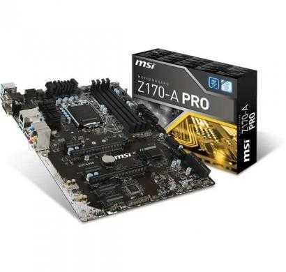 msi z170a pro mother board