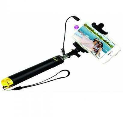 novel selfie stick for all mobile phones (black)