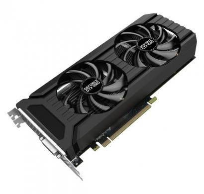 palit graphic card geforce gtx 1060 dual 3gb gddr5, 192 bit, dual fan, dvi,hdmi, 3-dp