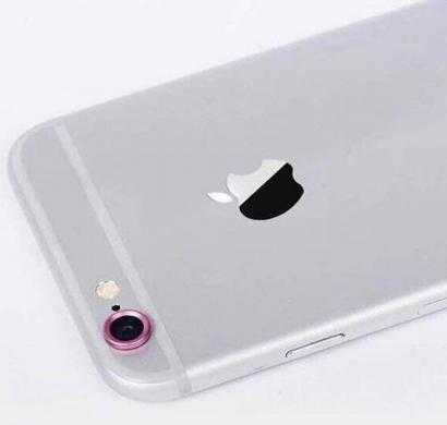 phoenix lens protector ring for apple iphone 6 (pink)