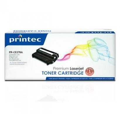 printec hp compatible pr-ce278a black toner cartridge