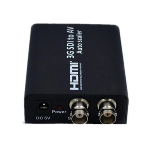Scm Cable 3G SDI to AV Composite RCA Video L R Analog Stereo Audio Video Converter Scaler