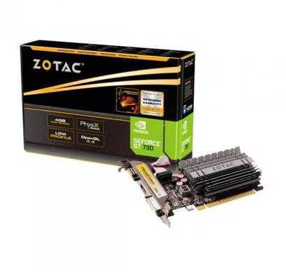 zotac geforce gt 730 4gb synergy edition graphics card