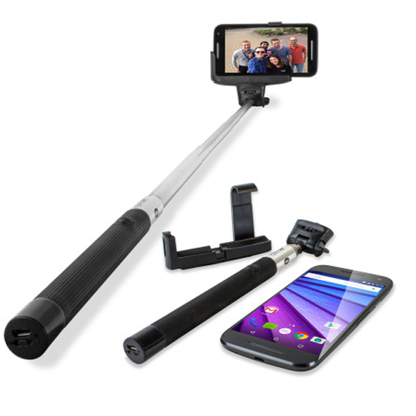 ACCESSORY LAB - Olixar 48773, Selfie Smart Pole for Android and Apple Devices,6 Month Warranty