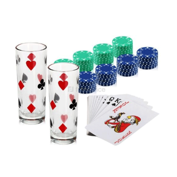 Cosmosgalaxy I3272 Drinking Poker Party Game
