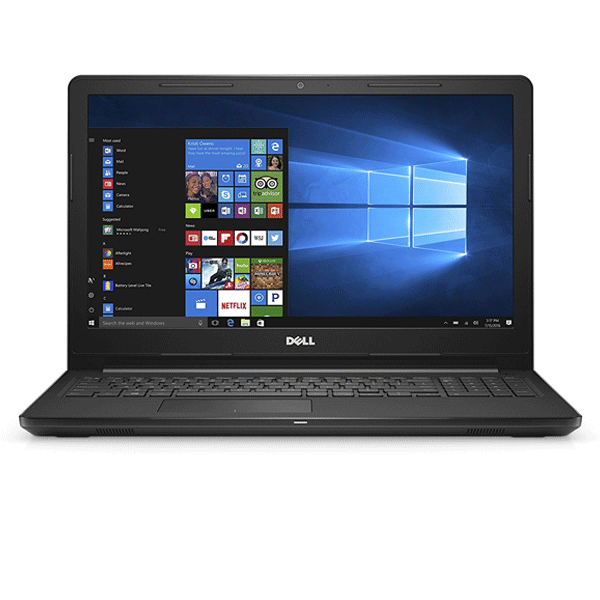 Dell Inspiron 3567 Intel Core i3 7th Gen 15.6-inch FHD Laptop (4GB RAM/ 1TB HDD/ Windows 10 Home/ MS Office/ Black)