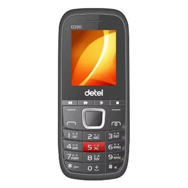 Detel D200 1.8 inches Display(Black)