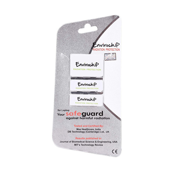 Enviro ChipEnvirochip - Radiation Protection Chip for Laptop (White Colour)
