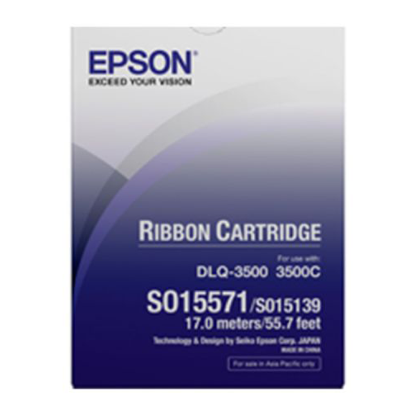 Epson -C13S015571 RIBBON CARTRIDGE , BLACK S015139