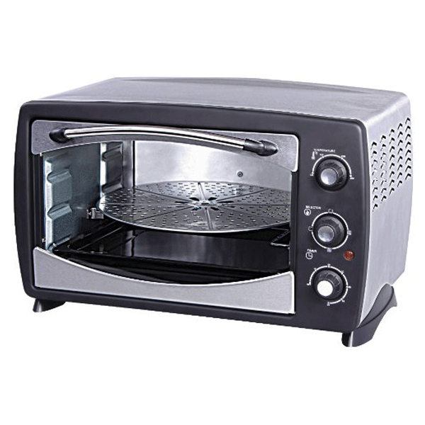 Havells 24 RPSS 24-Litre 1500-Watt Stainless Steel Oven Toaster Grill (Black)