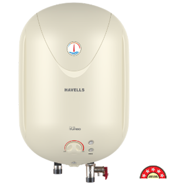 Havells - GHWAPTTIV025 , 25 Ltr Lvory Puro Turbo Storage Water Heater, 1 Year Warranty
