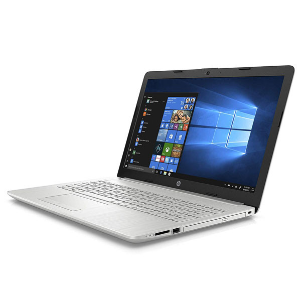 HP 15s-DU0093TU Laptop (Intel Core i3-8145U/ 8th Gen/ 8GB RAM/ 1TB HDD/ 15.6 Inch Screen/ Windows 10 + MS Office) Silver