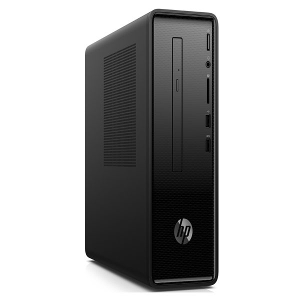 "HP Slimline (290-P0034in) Desktop ( Intel Core i3/ 8th Gen/ 8GB RAM/ 1TB HDD/ 19.5"" MONITOR/ Windows 10/No DVD/Wired Keyboard and Mouse/ 1 Year Warranty), Black"
