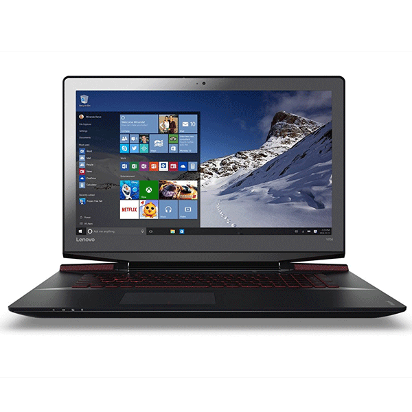 Lenovo Y700 80Q000E3IH 17.3-inch Laptop (6th Gen Core i7-6700HQ/16GB/1TB/Windows 10/4GB Graphics), With Bag Black