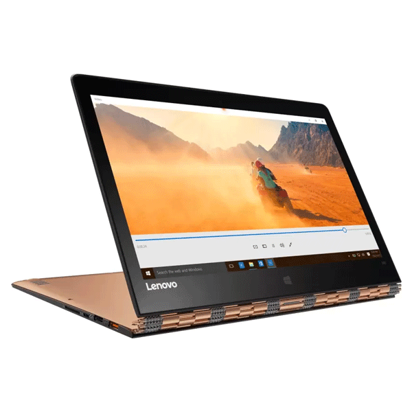 Lenovo 80UE00BLIH 13.3-inch Laptop (6th Gen Core i7-6500U/8GB/512GB/Windows 10/Integrated Graphics), Gold With Bag