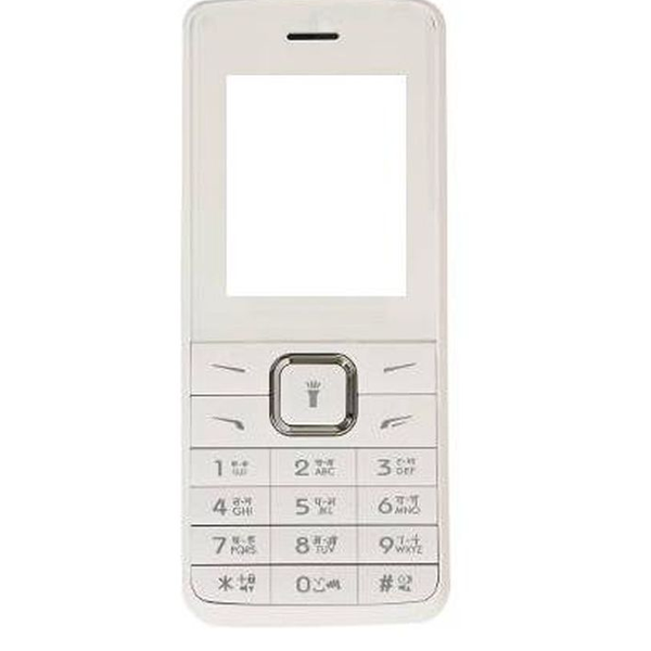 Micromax - X 407 Mobile, 4GB, White, 1 Year Warranty