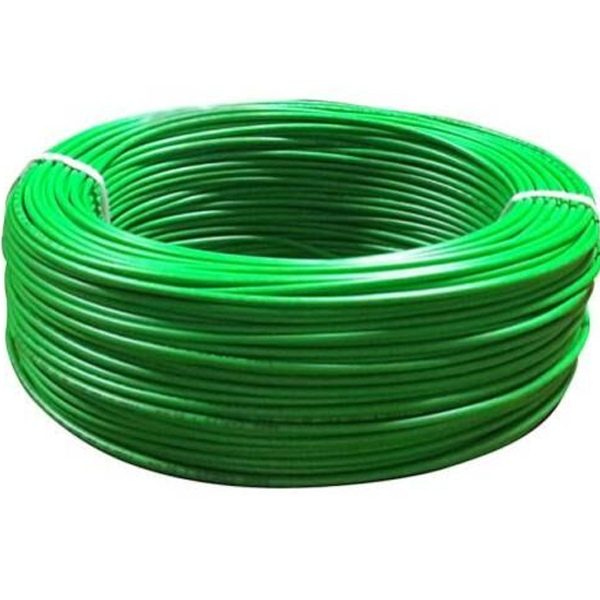 Niki- 0.5(16/20) SQmm FR Insulated Two Core PVC Cable (Green)
