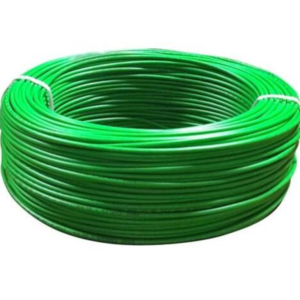 Niki- 0.5(16/20) SQmm FR Insulated Four Core PVC Cable (Green)