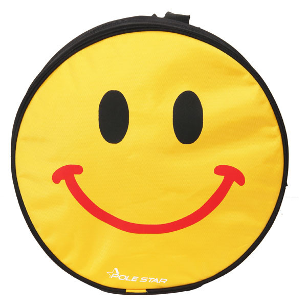 POLESTAR - smiley_smile (Black) School Bag