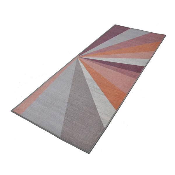 Rugsmith (RS000043) RUGS & CARPETS Cool Multi Color Premium Qualty GEOMETRICAL Pattern Polyamide Nylon KALEIDOSCOPE RUG Runner(Size Standard)