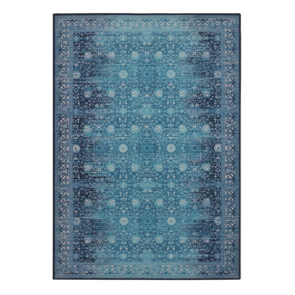 Rugsmith (RS000047) RUGS & CARPETS Warn Blue Color Premium Qualty TRADITIONAL Pattern Polyamide Nylon LEGACY RUG Area Rug