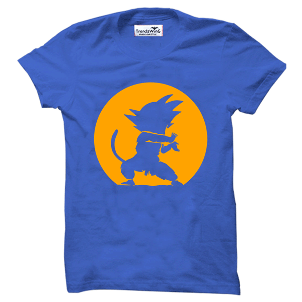 TrendzWinG TW007 GOKU T-shirt Royal Blue